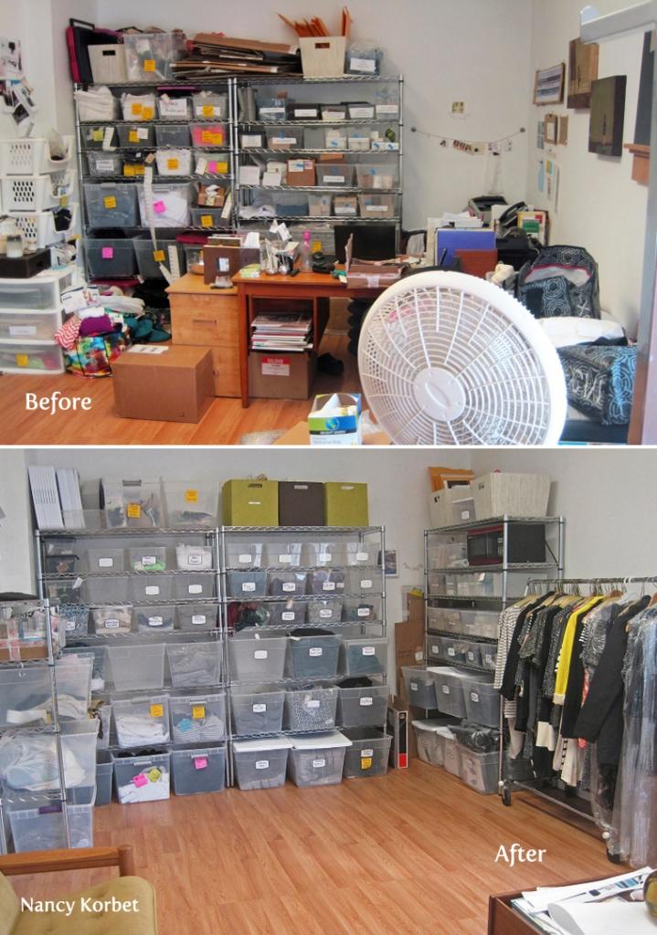 Fashion Storage Room Makeover