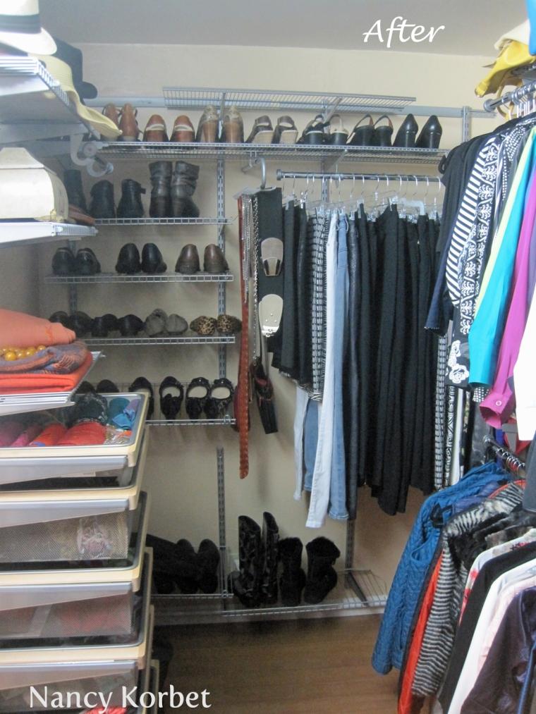 Kathy Closet Makeover by Nancy Korbet