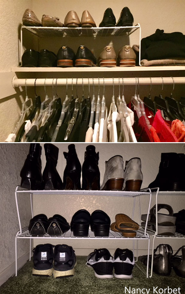 Stackable Shoe Shelves